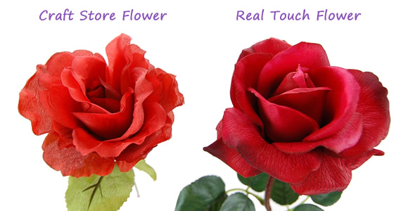What Are Real Touch Flowers Flowers By